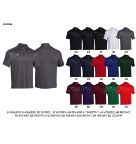 Under Armour Ultimate Polo Shirt with Specified Controls Logo (S-XXL)