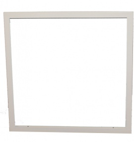 Diffuser Surface Mounting Frame - 24x24 (White)